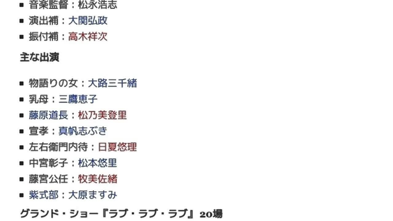1966年の宝塚歌劇公演一覧」とは...