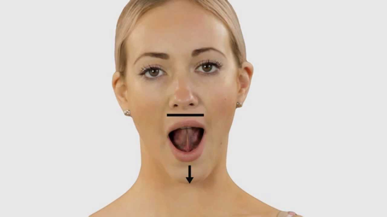 How To Stretch Your Tongue Youtube