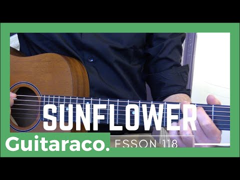 Sunflower - Post Malone, Swae Lee // EASY Guitar Lesson (Open Chords)