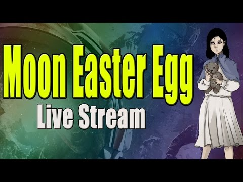 how to start moon easter egg
