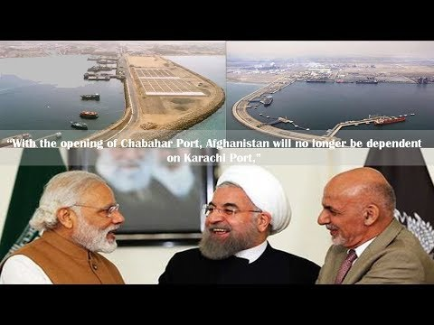 Afghanistan says it will no longer depend on Karachi Port, thanks India and Iran for Chabahar