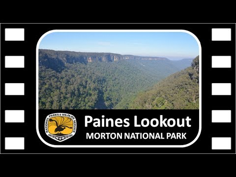Paines Lookout @ Fitzroy Falls in, Morton National Park 11052017
