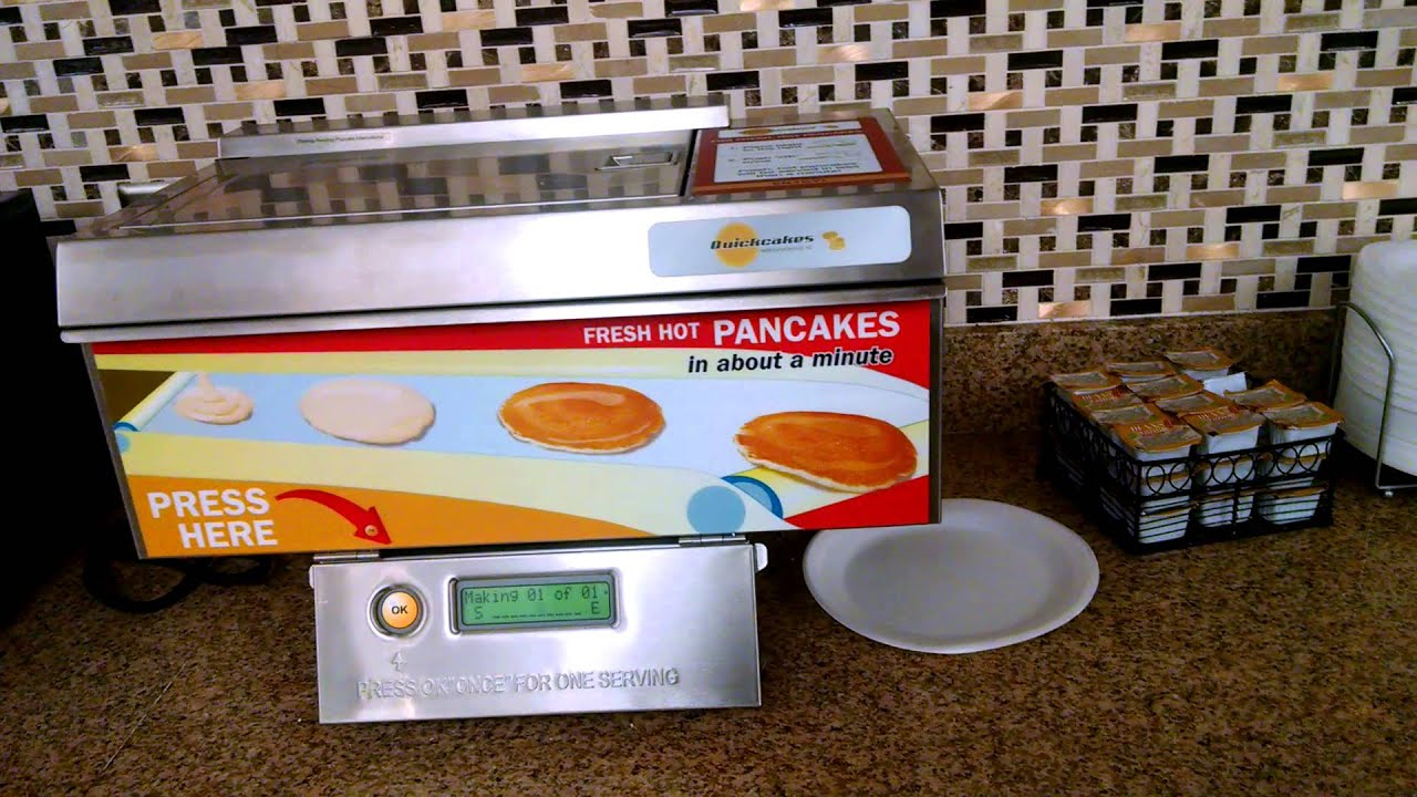 Quickcakes Pancake Maker Youtube