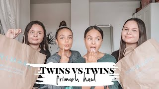 OUR TWIN SISTERS PICK OUR PRIMARK HAUL - AYSE AND ZELIHA