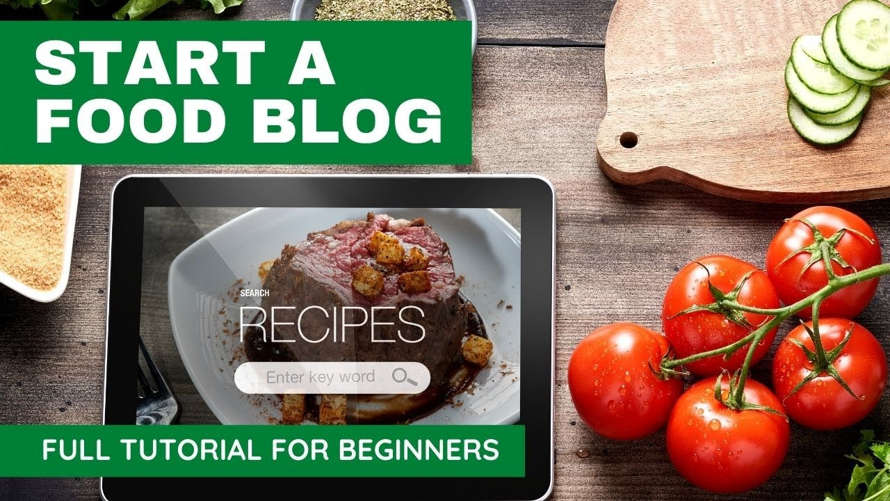 How to start a food blog tutorial for beginners | Step by step Wordpress tutorial for beginners 2020