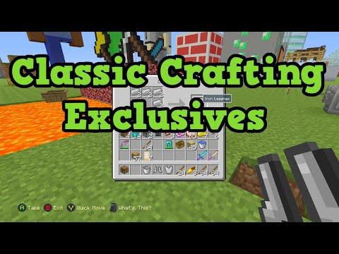 Xbox 360 Minecraft Crafting Recipes : Minecraft Xbox One +