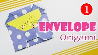 Origami envelope for romantic letter ❤  Easy origamy ❤