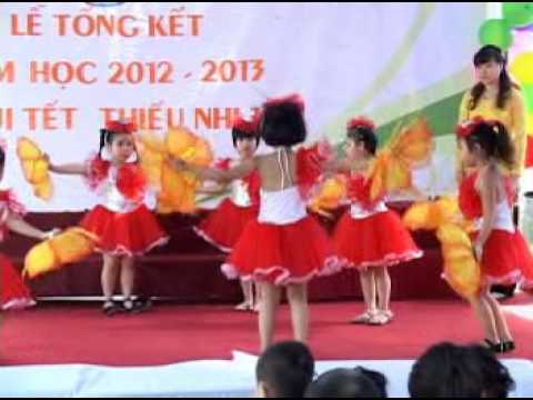 Mam Non Hoa Linh   TP Hai Dương   múa doi ban tay xinh