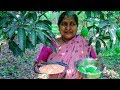 Traditional Aam Dal Recipe: Bengali Green Mango and Red Lentil Village Cooking Recipe