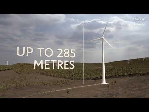 MacIntyre Wind Farm Flyover | ACCIONA