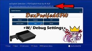 PS4 (5.05) UPDATE & Debug_Settings w/Tutorial (EASY)