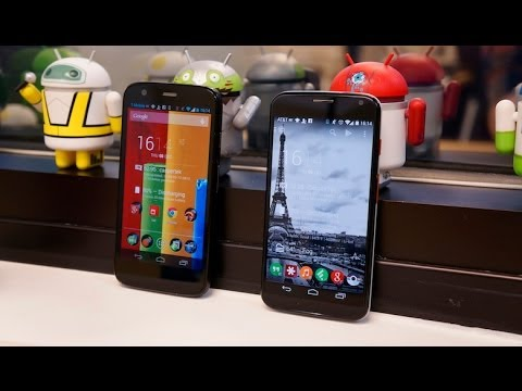 Moto G vs Moto X | Pocketnow