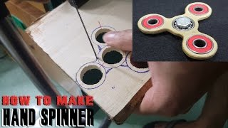 how to make a hand spinner fidget toy at home
