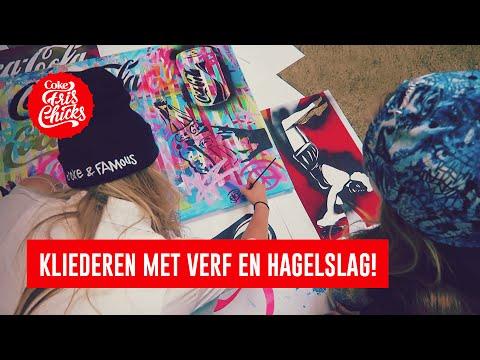 #22 Painten met Frank E Hollywood & een Dutch design hagelslagstoel - FrisChicks