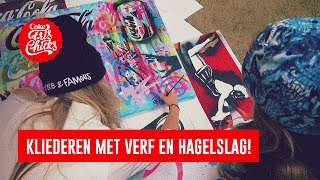 #22 Painten met Frank E Hollywood & een Dutch design hagelslagstoel - FrisChicks