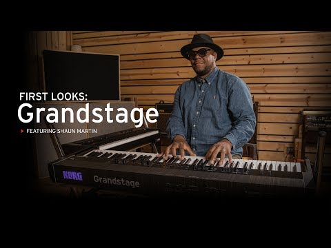 First Look: Korg Grandstage with Shaun Martin