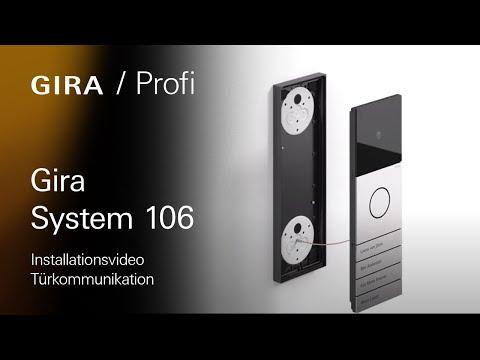 Video-Montageanleitung: Gira System 106