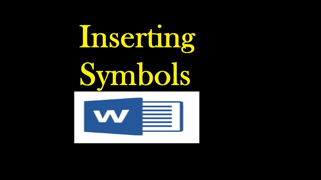 How To Insert Degree Symbol And Other Symbols In Word Tutorial In