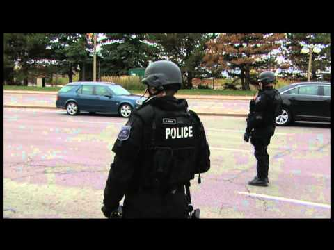 RAW: Ottawa Shooting Police Searches