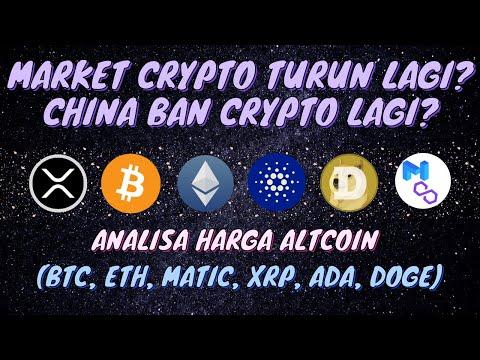 CRYPTO MARKET TURUN LAGI, ADA APA?? UPDATE ANALISA HARGA ALTCOIN (BTC- ETH-MATIC-XRP-ADA-DOGE)
