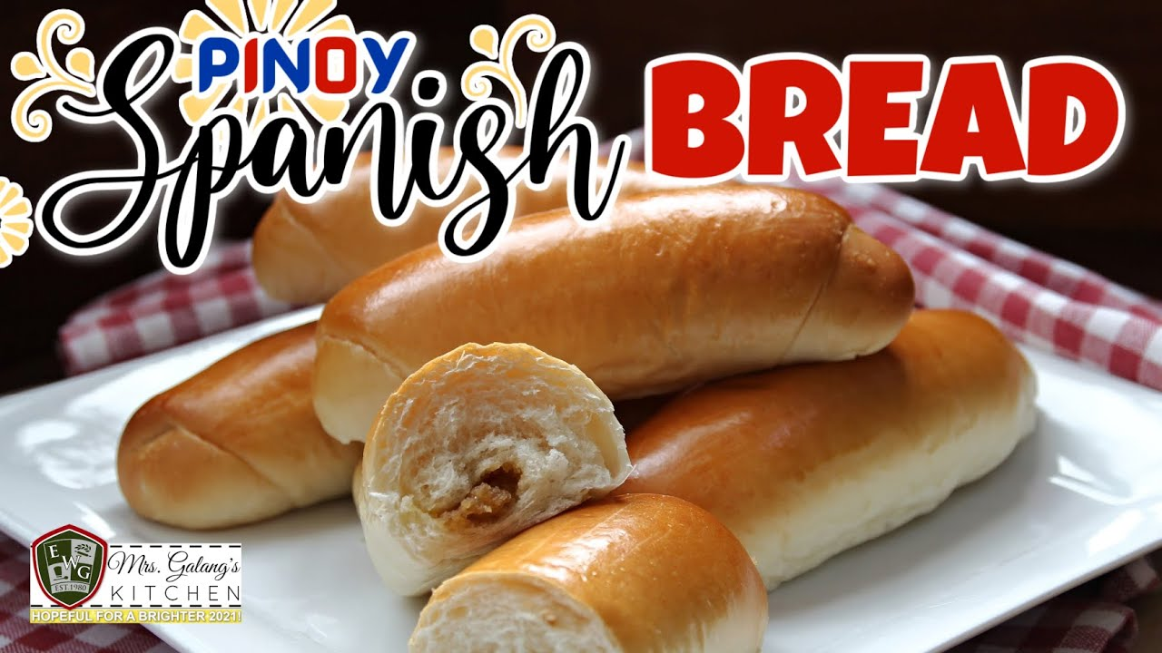 Easy Spanish Bread Mrs Galang S Kitchen S13 Ep6 Youtube