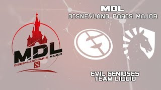 EG vs Liquid | MDL Disneyland® Paris Major