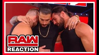 Roman Reigns Has Leukemia Reaction & Forfeits The Universal Championship | WWE Raw October 22nd 2018