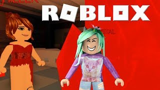 They Got Me And Left!- Roblox Survive The Red Dress Girl