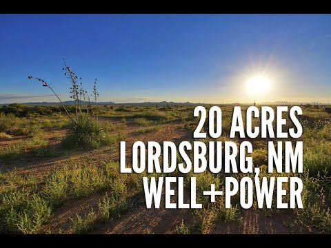 New Mexico Land For Sale: 20 Acres in Hidalgo County w/ Working Well