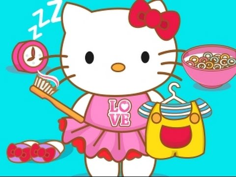 Hello Kitty Video Game - Hello Kitty Goes To School ... Cutezee