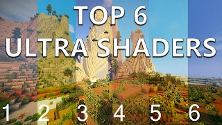 Minecraft Top 6 ULTRA Shaders for 1.8