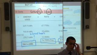 Interpreting Electricity Bills (1 of 3: Reading rates & costs)