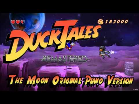 Duck Tales Remastered - The Moon Theme Original Piano Version [MP3 Link]