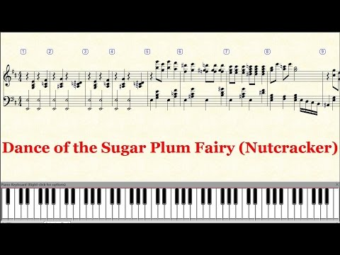 Dance Of The Sugar Plum Fairy Piano Sheet Music