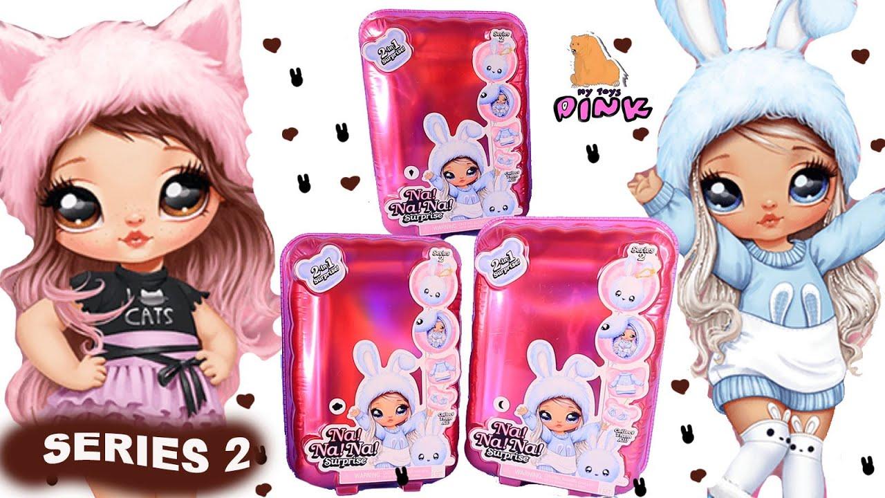 NA Surprise Fashion Pom Purse Doll SNOWFLAKE Series 2 Aspen Fluff NA NA