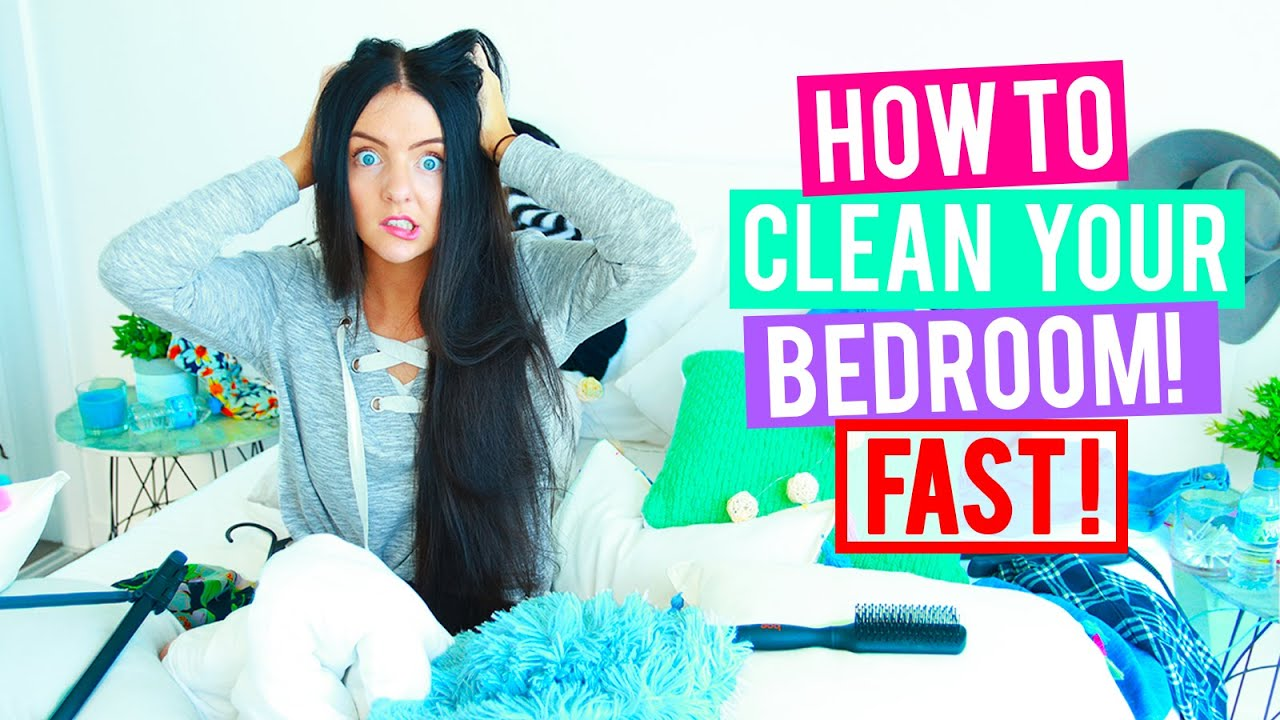 how to clean your room fast cleaning hacks