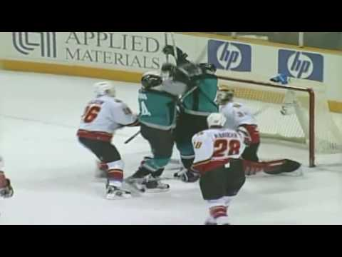 Jonathan Cheechoo 2005/2006 Goals Highlight Reel