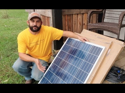 """The PERFECT Off Grid SOLAR for our """"Tiny House"""" Guest Cabin!"""