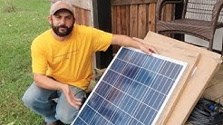 "The PERFECT Off Grid SOLAR for our ""Tiny House"" Guest Cabin!"