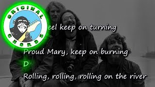 Download Creedence Clearwater Revival - Proud Mary - Chords & Lyrics