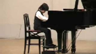 "In the audition of the contest. My son (7yo)played ""Mr.Punch by A..."