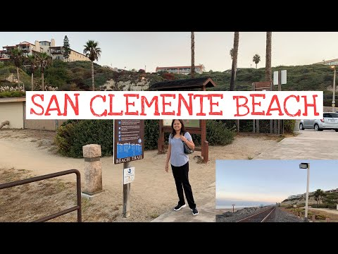 Going To The Beach Early Morning/San Clemente Beach Cal.