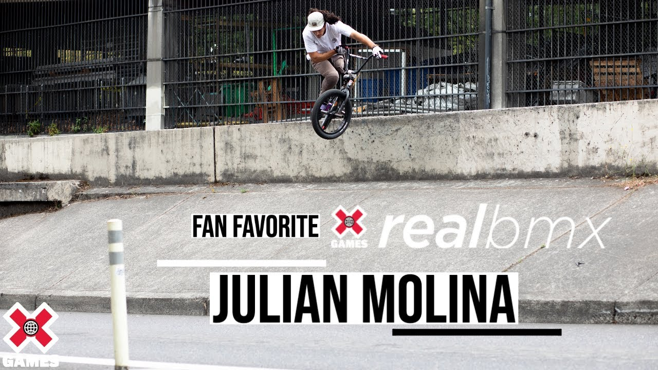 Julian Molina, The One-Legged BMX Rider: REAL BMX 2020 | World of X Games