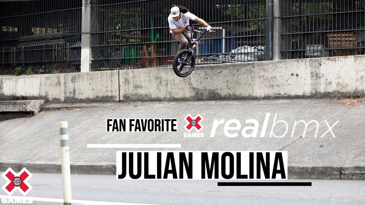 Julian Molina, The One-Legged BMX Rider: REAL BMX 2020 | World of X Games