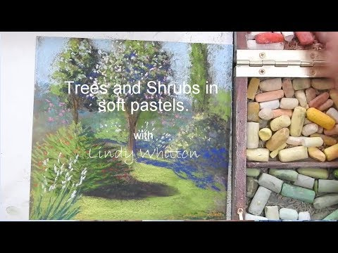 Trees and shrubs - Pastel painting course
