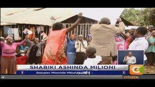 Douglas Mburugu ashinda Ksh. 1M katika shindano la Shabiki.com