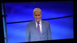 Alex Trebek's Final Jeopardy! Episode (Intro/Closing) Friday 1-8-2021
