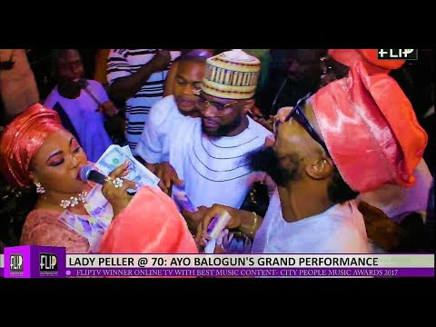 LADY PELLER @ 70: AYO BALOGUN'S GRAND PERFORMANCE