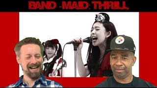 BAND-MAID Reaction THRILL