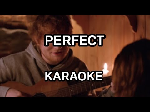 Ed Sheeran - Perfect [karaoke/instrumental] - Polinstrumentalista